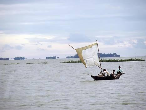 Sailed Boat by Daniel Chowdhury