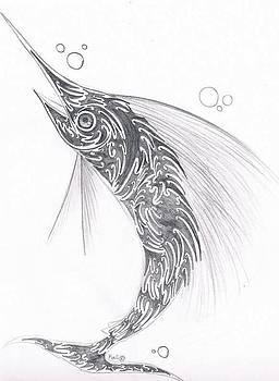 Sailfish  by Kali Kardsbykali
