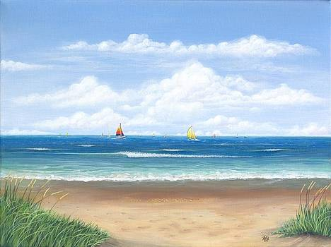 Sailing 2 by Anthony Fotia