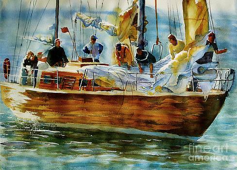 Sailing away by Marisa Gabetta