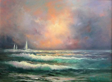 Sailing Away by Sally Seago