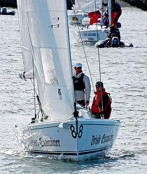 Sailing Boat by Frank Gaffney