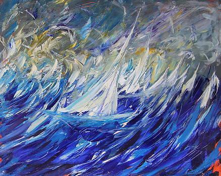 Sailing Boat by Mario Zampedroni