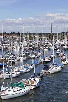 Sailing Boats by Gillian Dernie