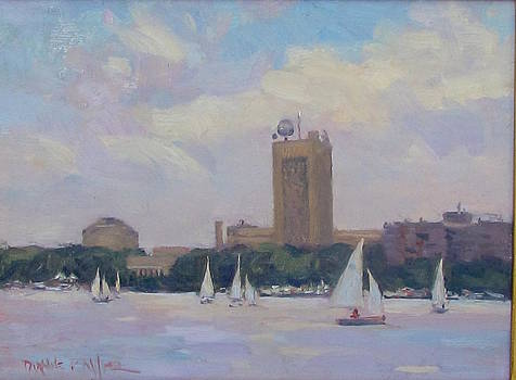 Sailing by MIT by Dianne Panarelli Miller