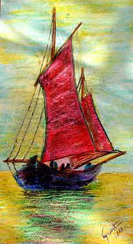Sailing  by Carvil Gunter