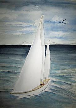 Sailing by Elvira Ingram