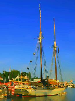Sailing in Maine by Paul Szakacs
