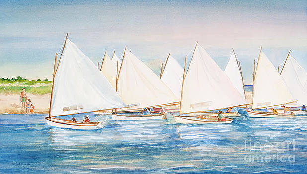 Sailing in the Summertime II by Michelle Constantine
