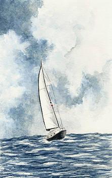Sailing by Michael Vigliotti