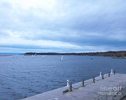 Sailing on Lake Champlain by Lisa J Gifford