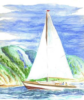 Ellen Miffitt - Sailing on the Bay