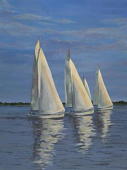 Edward Williams - Sailing on the Chesapeake