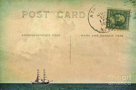 Angela Doelling AD DESIGN Photo and PhotoArt - Sailing PostCard