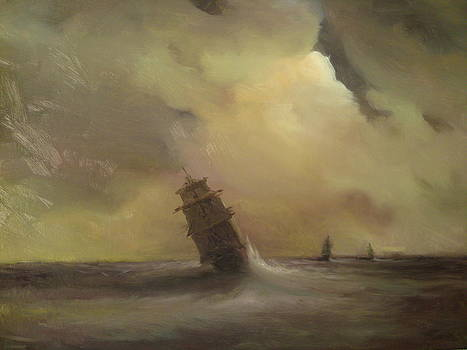 Sailing Ships by Michael Chesnakov