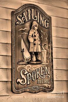 Sailing Spoken Here by Matthew Naiden