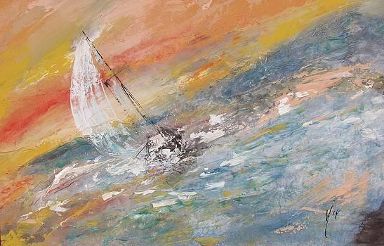 Sailing The Horizon  by Melanie Stanton