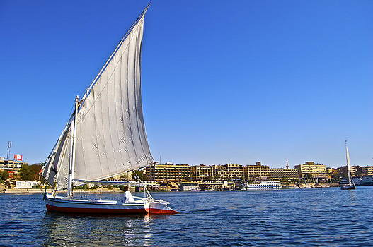 Sailing the Nile River by Galexa Ch