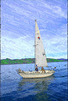 Sailing the Tranquil Sea by Kevin Schank