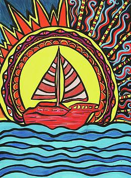 Sailing to the Sun by Lorinda Fore