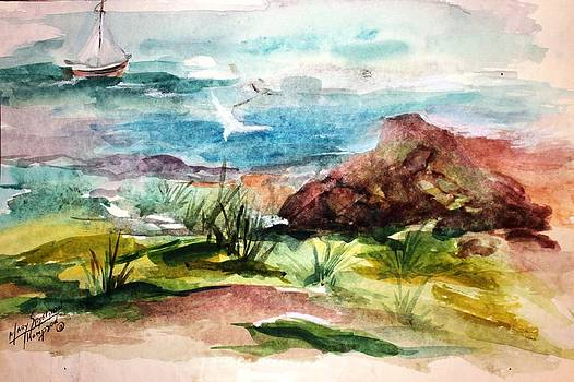 Sailing Towards Anywhere by Mary Spyridon Thompson