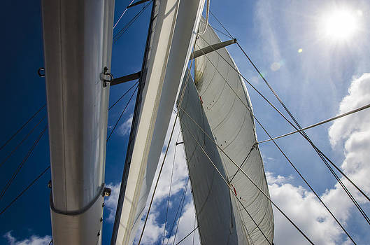 Sailing's Perfect Breeze  by Heather Grow