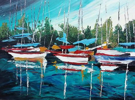 Sailling  by Noor Moghrabi