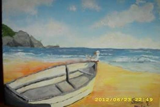 Sailors Beach by Shane Reynolds