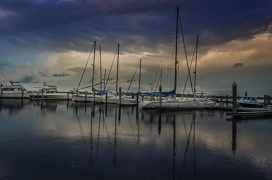 Sails Down by Richard Kook