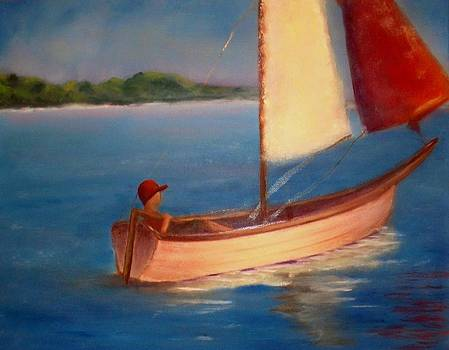 Sails of Solitude by Barbie Baughman
