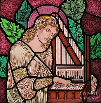 Saint Cecilia by Gilroy Stained Glass
