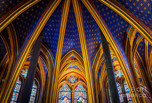 Inge Johnsson - Saint Chapelle Ceiling