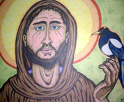Saint Francis Assisi by Michael Toth