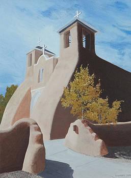 Saint Francis Church at Rancho de Taos by Doug Goodale