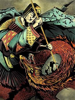 Saint George and the Dragon by David Leiberg