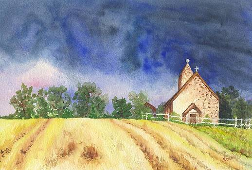 Saint Huberts Church by Oty Kocsis
