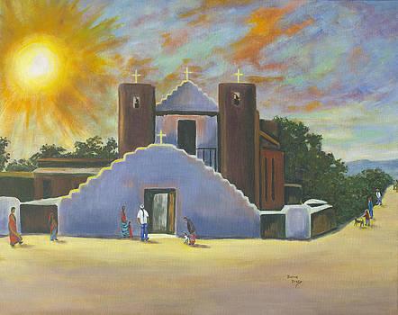 Saint Jerome Church by Donna Drake