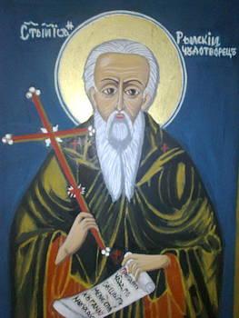 Saint John of Rila Mountain by Zornitsa Tsvetkova