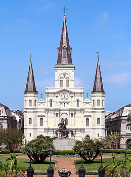 Saint Louis Cathedral by Jack Thomas
