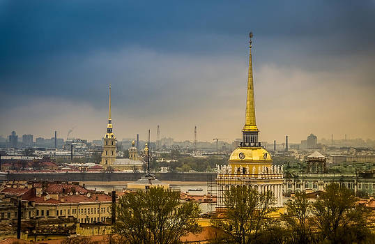 Saint Petersburg Admiralty by Ludmila Nayvelt