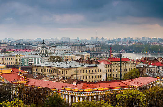 Saint Petersburg Russia by Ludmila Nayvelt