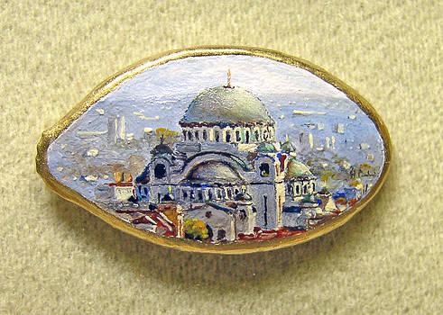 Saint Sava in Belgrade by Hrvoje Puhalo