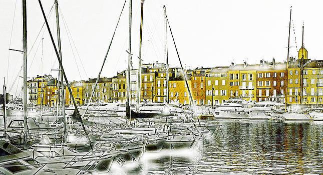 Saint Tropez by Frank Tschakert