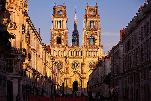 SainteCroix Cathedral of Orleans by Kirk Strickland