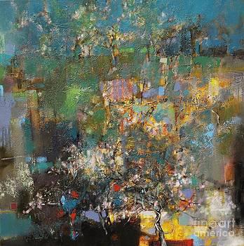 Sakura Tree is Beautiful All Year Long by Grigor Malinov