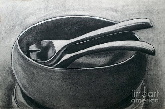 Salad Bowl by Cecilia Stevens