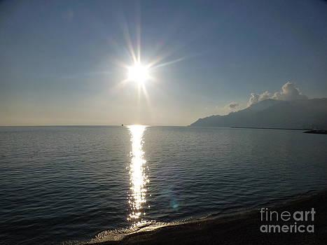 Salerno sunset by Adriana Joyce