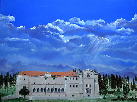 Salesian church by Elias Akleh