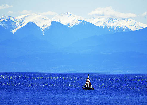 Salish Sea Sail by Annie Pflueger