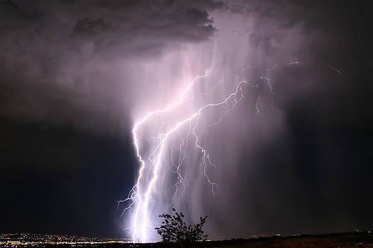 Salt Lake Lightning by Paul Marto